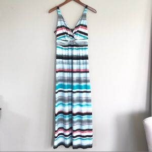 Soma striped maxi dress